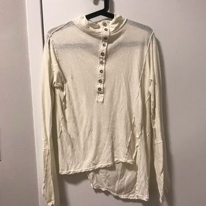 Free People High Neck Henley